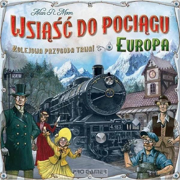 Wsiąść do Pociągu : Europa